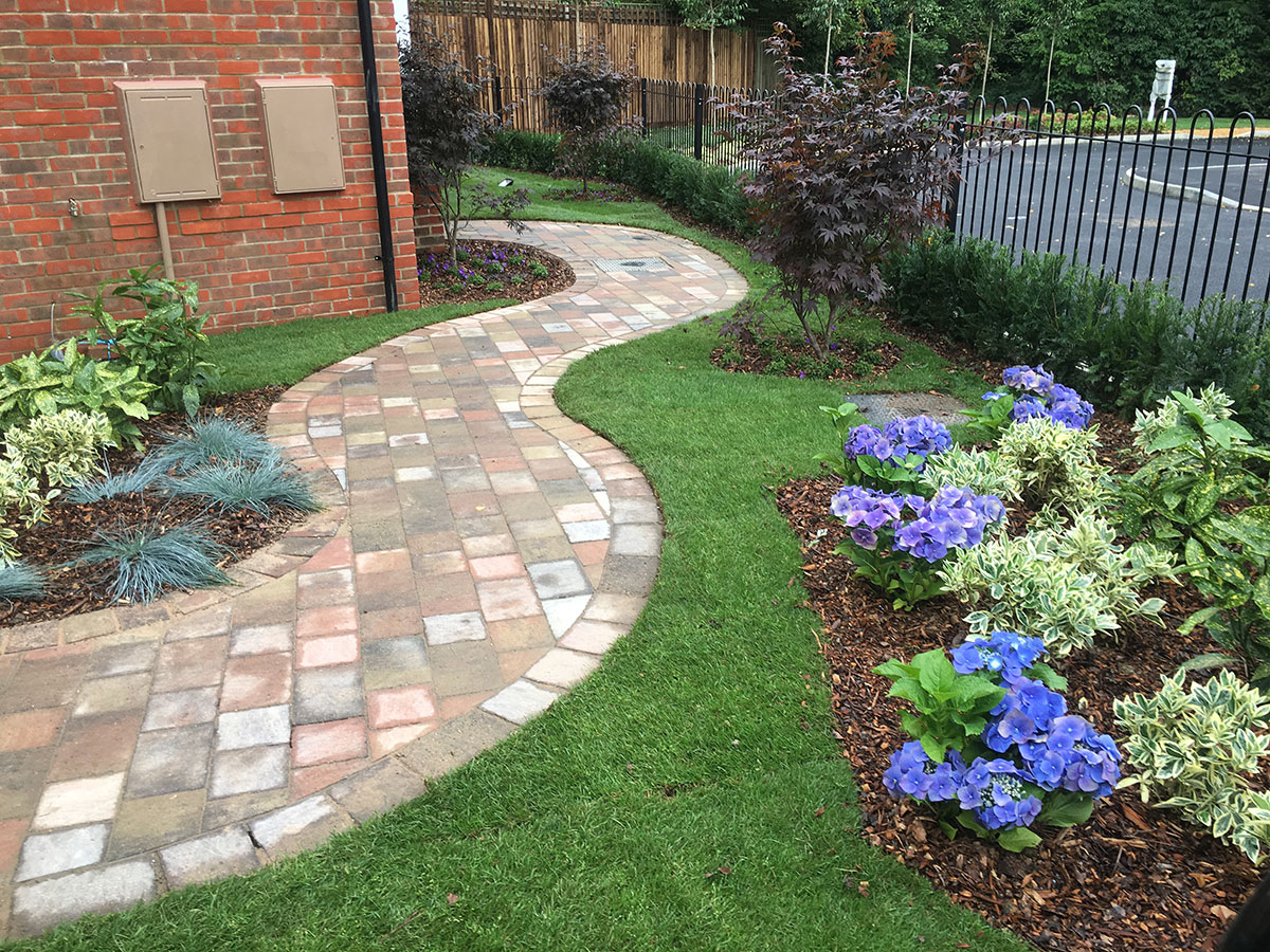 Landscaping services for Show homes